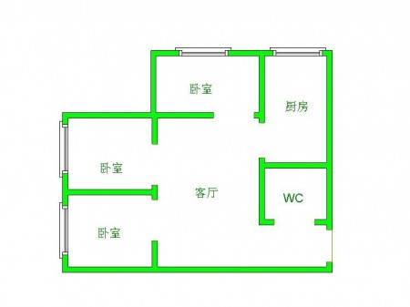 急租大营坡沙河花园三期 1楼 3室2厅 精装修 拎包入住