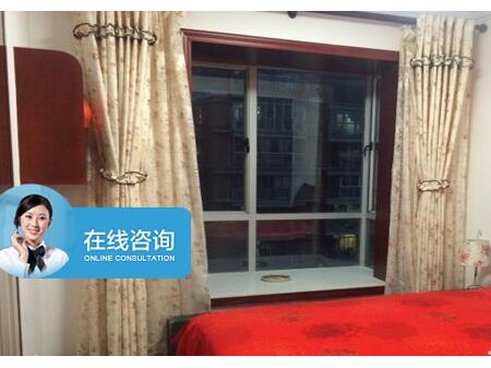 金元国际 3室2厅 精装 全实木家具 半年付