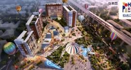 大唐·悠活公园项目新收预售证一张  获面逾6万方!